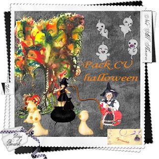 CU Halloween Digiscrapouille13packcuhalloweenpreview
