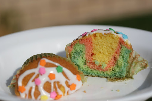 Can I Mix Raainbow Jimmies Into Yellow Cake Mix