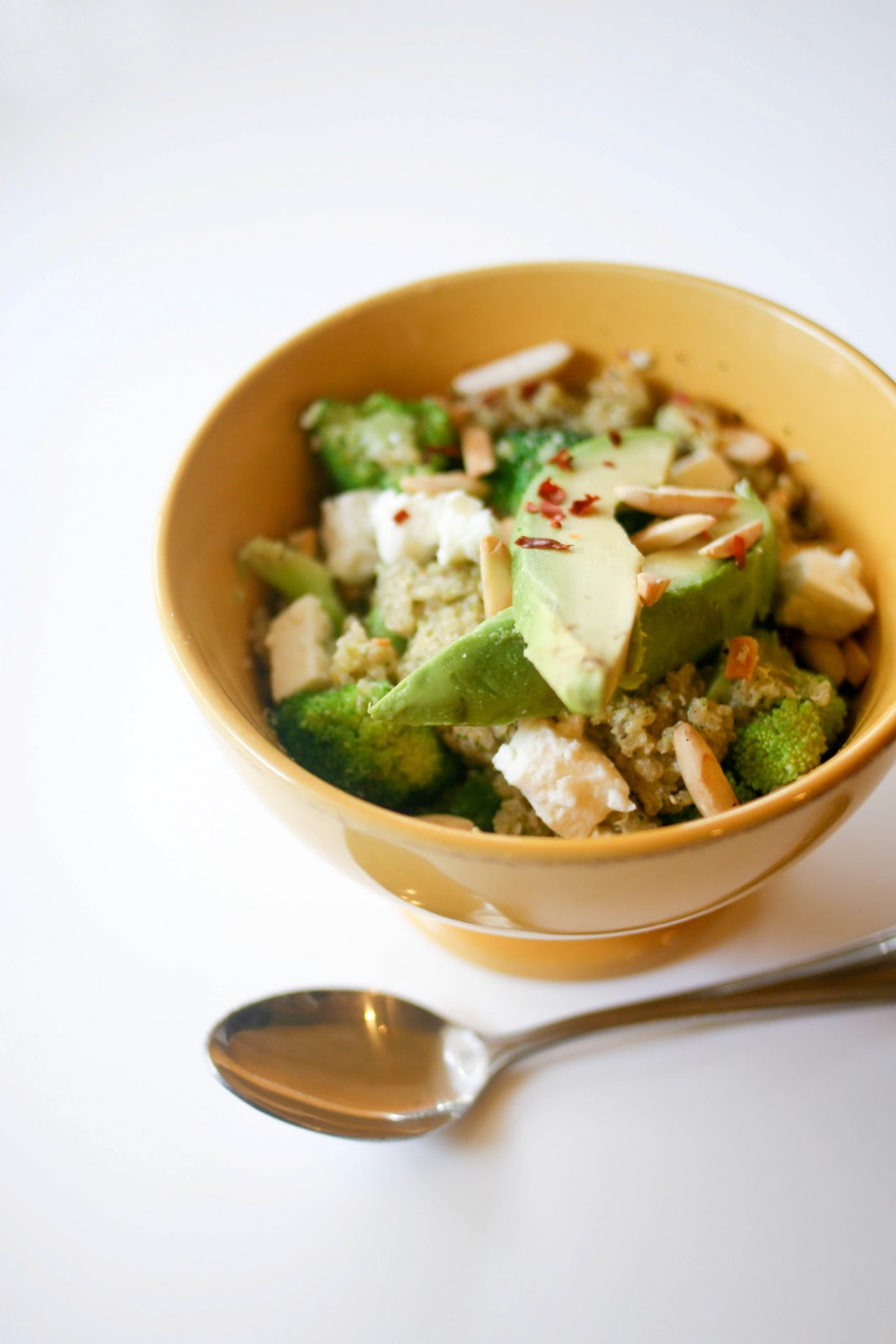 Une-deux senses: Double Broccoli Quinoa