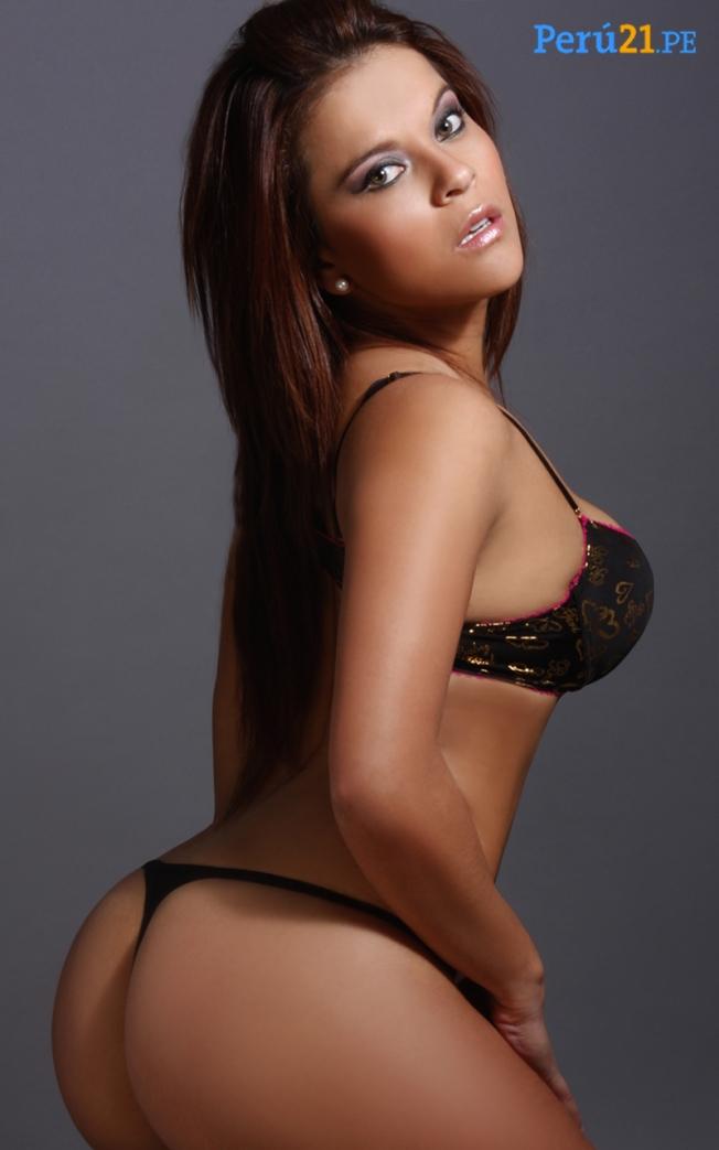 Melissa Díaz: Modelo Sexy Del Perù