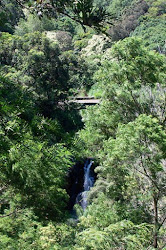 Kaluanui Bridge and Hidden Falls