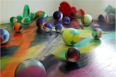 Acrylic Paint Styrofoam Balls
