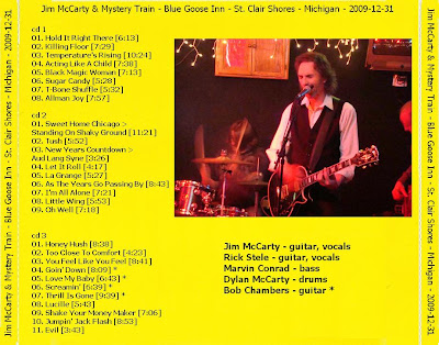 Jim McCarty & Mystery Train - Blue Goose Inn - St. Clair Shores - Michigan - 2009-12-31