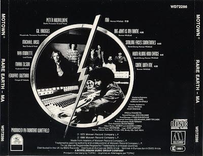 Rare Earth - Ma - 1973