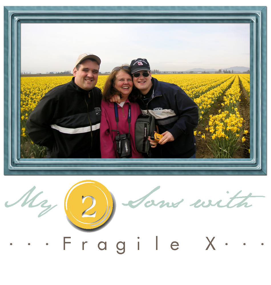 My2Sons with Fragile X