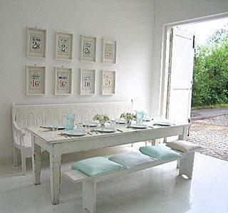 Stunning Comedor Vintage Blanco Gallery - Casas: Ideas, imágenes y ...
