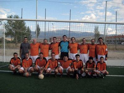 Equipo de fútbol de Bernardos 2008-2009