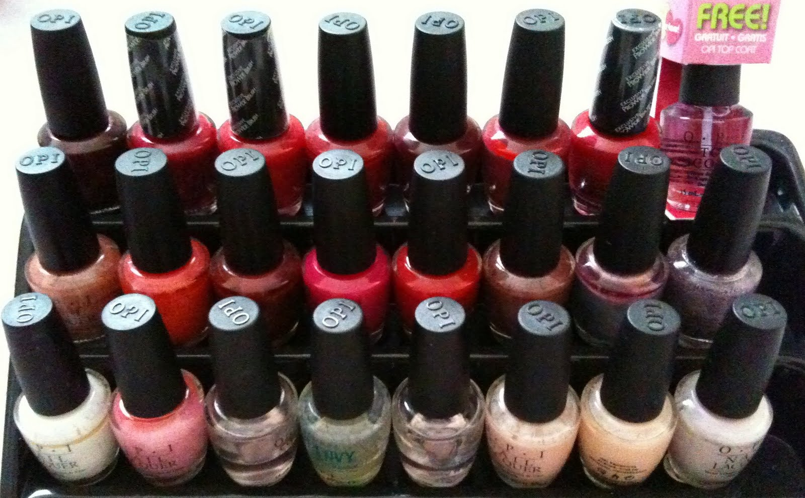Written and Posted.: Recommendation: OPI Nail Varnish