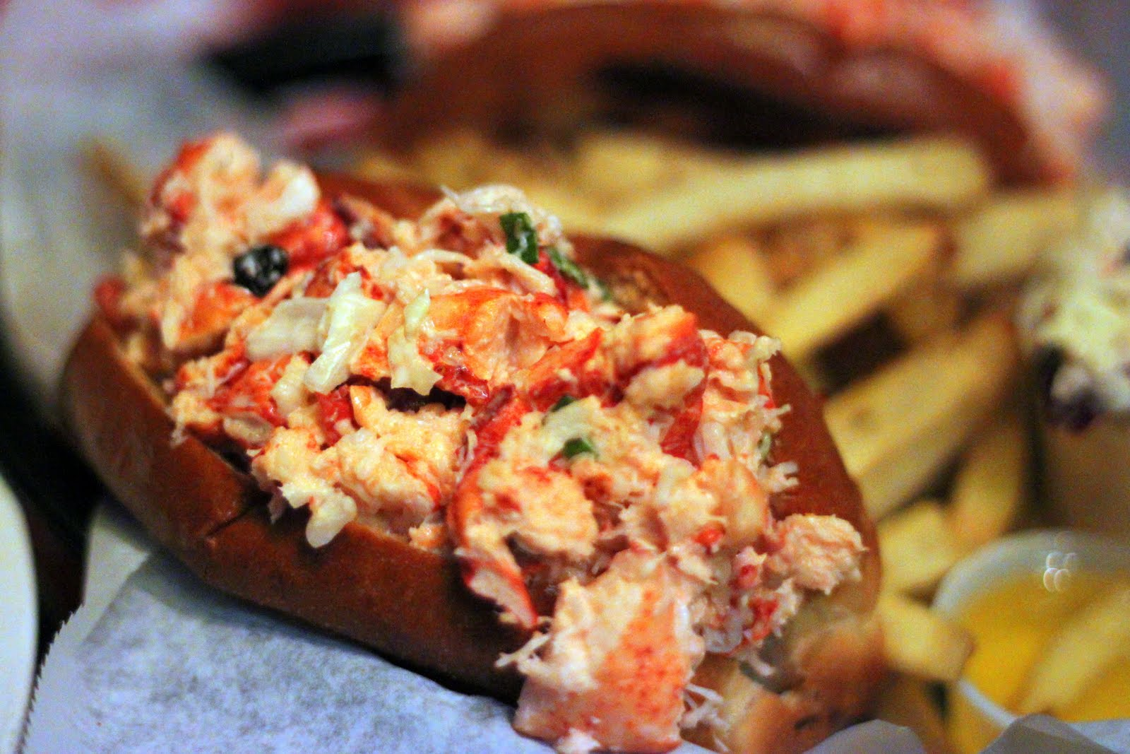 The Iron Chevsky Wine Blog: Another trip to the Old Port Lobster Shack, with Greek in hand