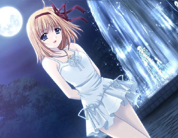 anime girl brown hair. images Normal Anime Girl Brown