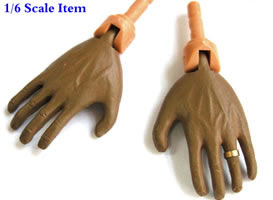 TOY REPLICA OF OBAMA'S HANDS