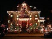 Xmas Lights House
