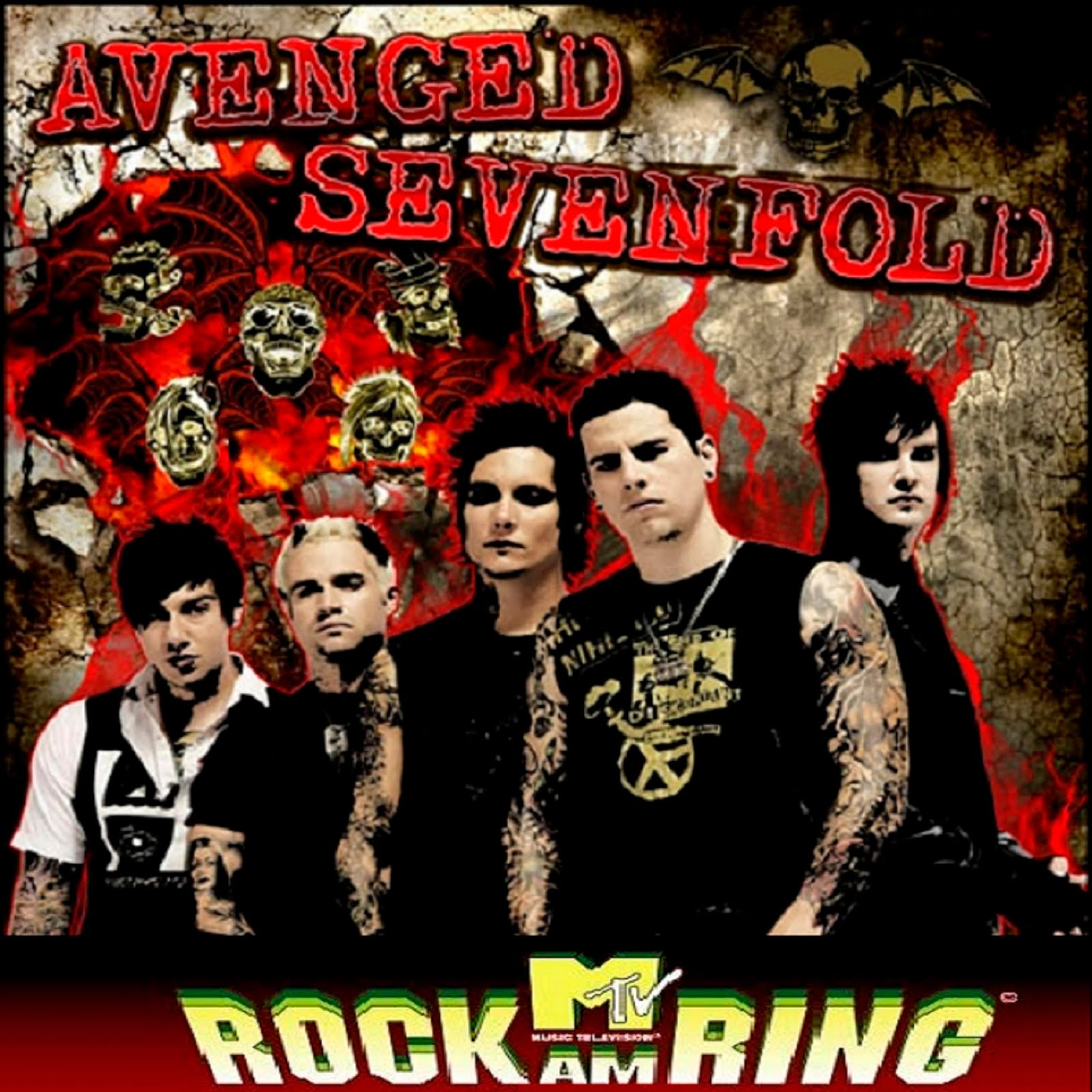 Avenged Sevenfold Bat Country Live Rock Am Ring