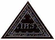 LA VERDAD DEFINITIVA SOBRE EL ORIGEN DE LA MASONERIA Freemasonic+IHS+Triangle