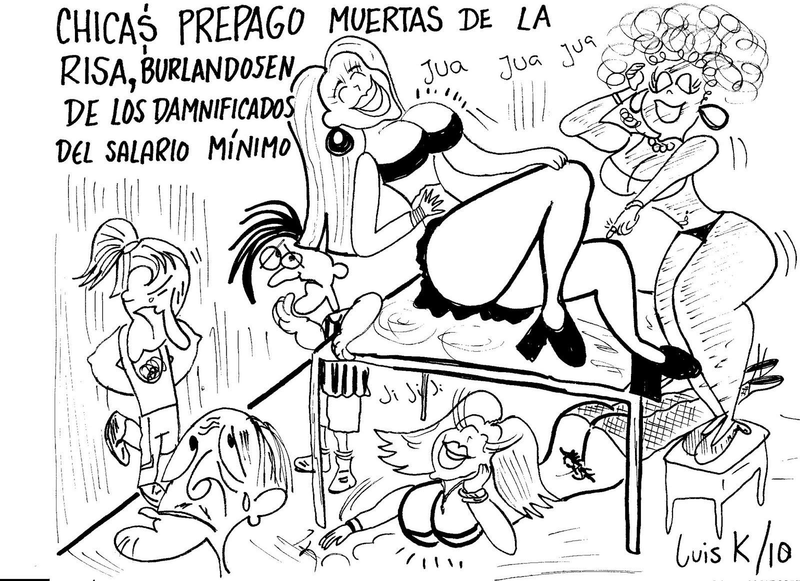 LAS LUISCARICATURAS DE LUIS K