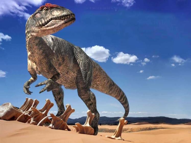 Dinosaurio Bipedo.