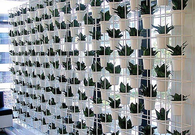jardim vertical moderno:shine*gold&silver: Novas idéias para jardim vertical