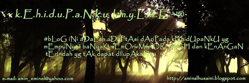~ k.E.h.i.d.u.P.a.N.k.u | m.y.L.!.f.E ~®    |  http://aminalhusaini.blogspot.com/