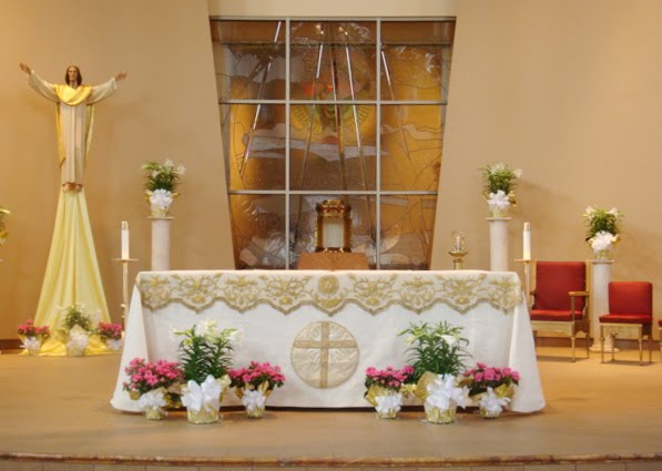 How to decorate the church sanctuary for easter joy