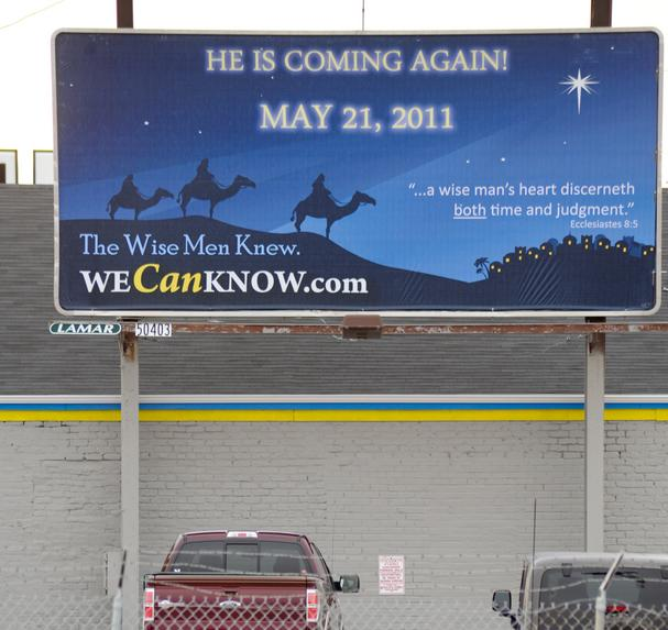 may 21st billboards. on May 21 in illboards