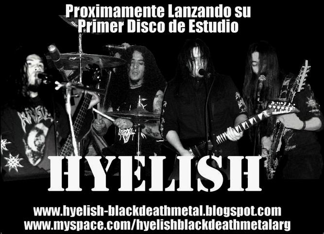 HYELISH  - Black Death Metal de Rio Gallegos