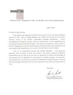 recommendtion letter