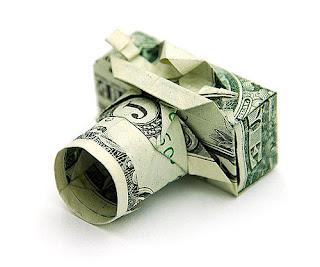 image camera dollar unique origami