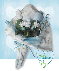 Bouquet de bebé niño