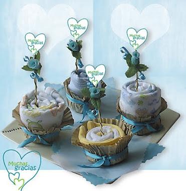 Cupcakes Ropa de Bebé Niño