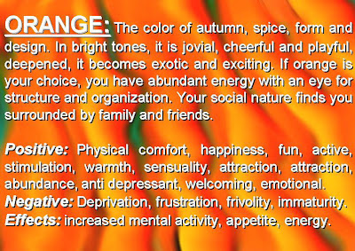 Psychology Of The Color Orange Meaning Of Colors  Psychology Of Color  Personality Colors
