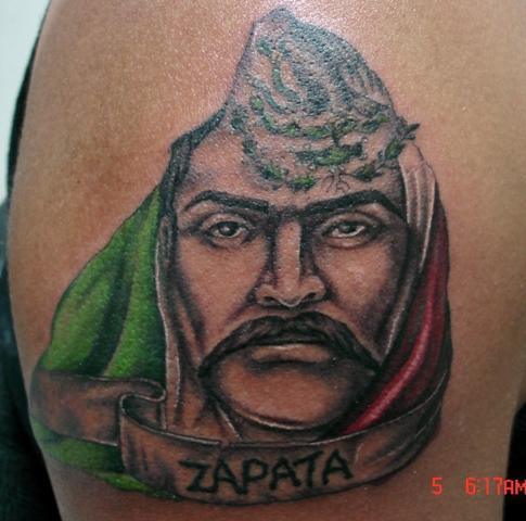 Emiliano zapata for Emiliano zapata tattoo