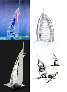 the burj al arab is a luxury hotel located in dubai in the united arab emirates the architect behind this creation was tom wright of atkins