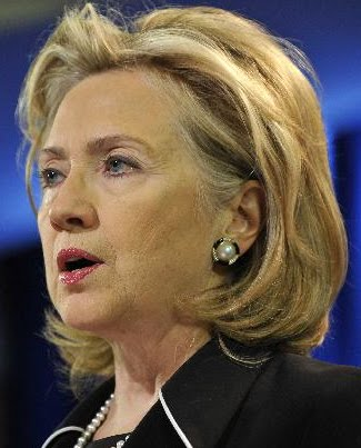HILLARY CLINTON, THE HARDEST WORKING MADAM SECRETARY OF STATE, NEEDS A NEW MAKEUP ARTIST?