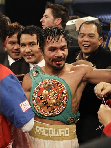 MANNY PACQUIAO, PHILIPPINES FIGHTING CONGRESSMAN!