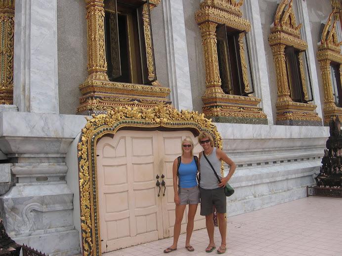 Touring Bangkok Temples