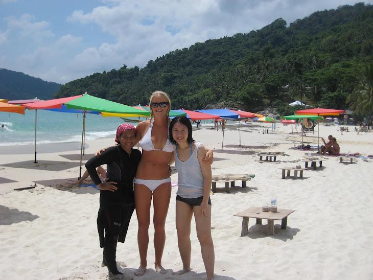 Maria, me and Elena