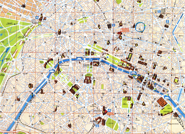 Prague Attractions Map