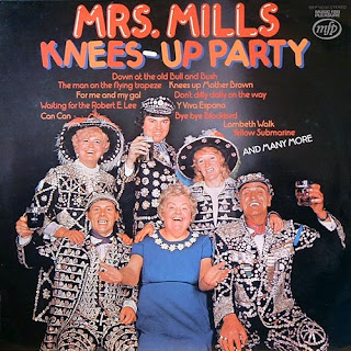 funny worst album covers mrs mills knees up party weird outfits but happy