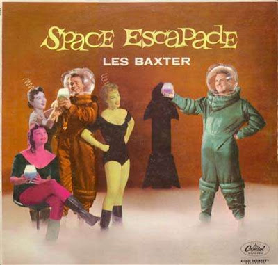 funny album covers les baxter space escapade very weird
