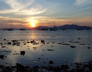 Sunset, Cape Panwa, Phuket, 25th December