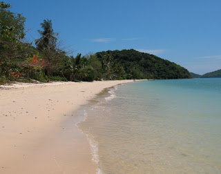 Beach at Cape Panwa. Who says Phuket is overcrowded?