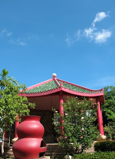 Blue Skies again, Karon Plaza Shrine, 9th April