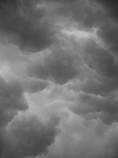 Stormy skies, 13th May