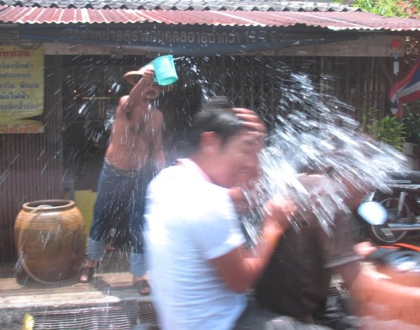 Splash! Photo in Phuket Town, Songkran 2008