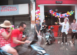 Songkran fun in Phuket