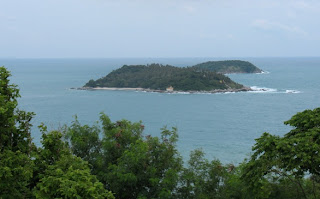 Koh Kaew Yai seen from Phromthep Cape