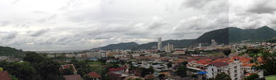 View over Patong, 3rd August - Click to enlarge