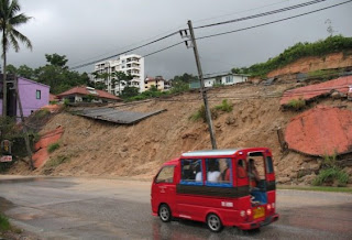 Little landslide, Patong