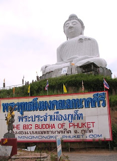 Big Buddha Phuket, 10th October 2008