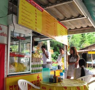 Jae food restaurant opposite Karon Post Office